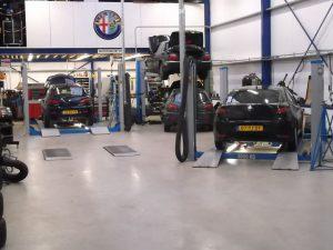 Alfa Romeo Goedhart werkplaats te Winkel