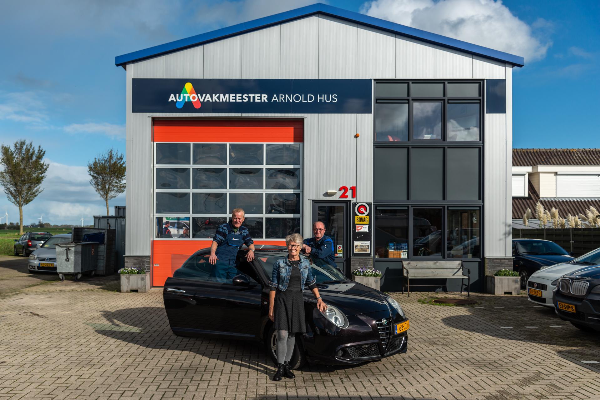 Meet the team Alfa Romeo Goedhart Autovakmeester Arnold Hus