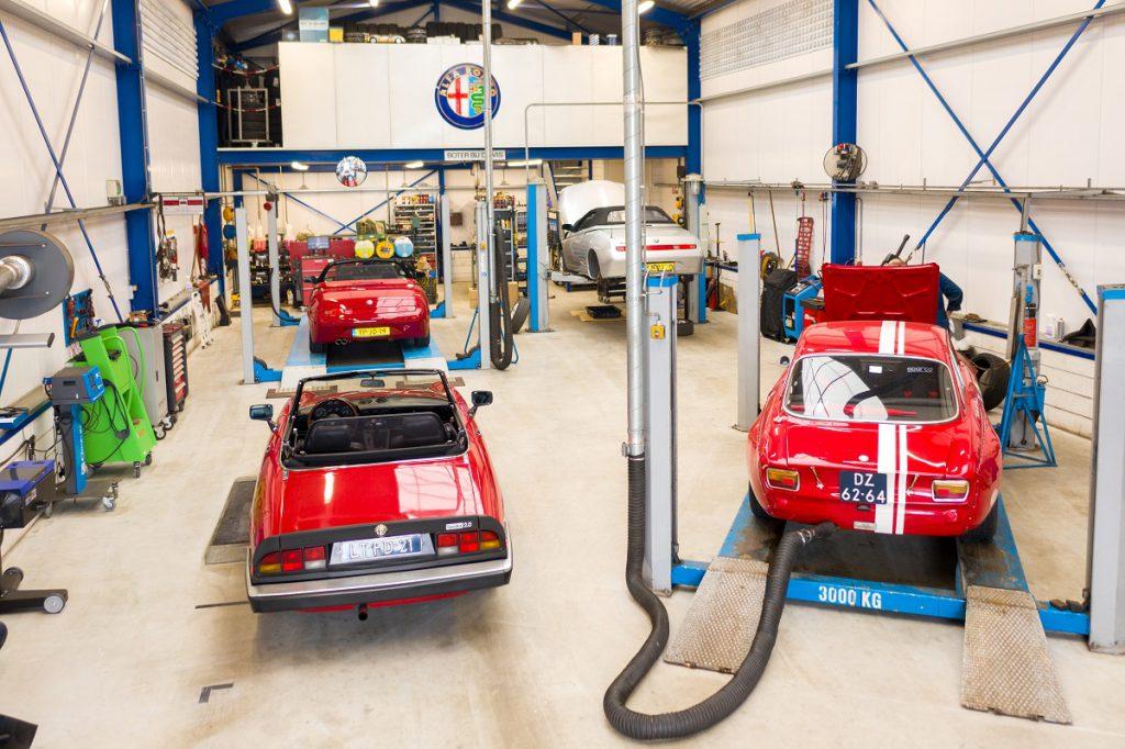 Drone bezoekt Alfa Romeo Goedhart Arnold Hus