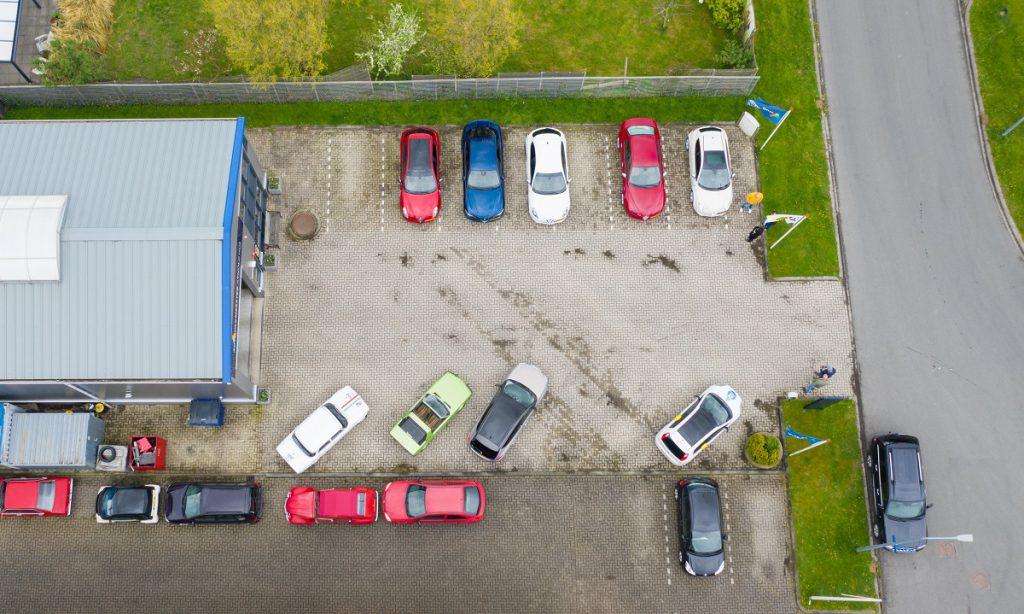 Drone bezoekt Alfa Romeo Goedhart Arnold Hus in Winkel